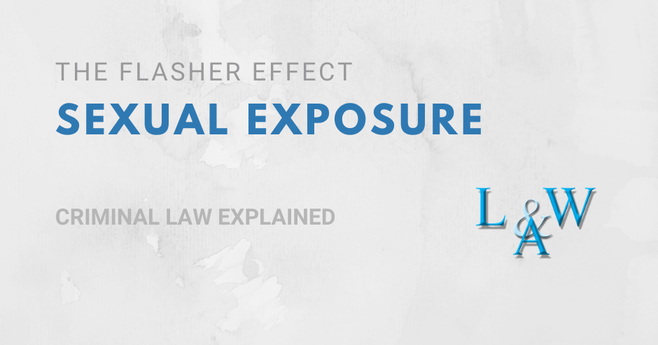 The Flasher Effect – Talking about Sexual Exposure